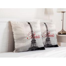 2x vankúšik dekoračný Paris 45x45 cm