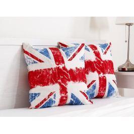 2x vankúšik dekoračný Union Jack 45x45 cm