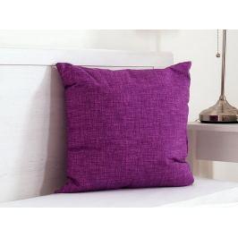 Vankúšik dekoračný fialový 45x45 cm