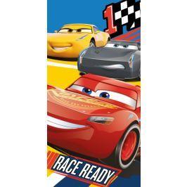Licenčná osuška bavlna Cars 3 Race 70x140