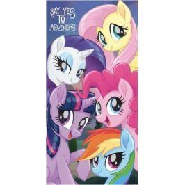 Osuška licenční 70x140 - My Little Pony fialová