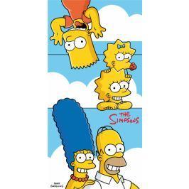 Osuška licenční bavlna The Simpsons 70x140