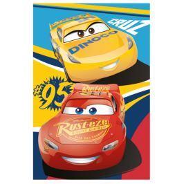 Fleecová deka licenčná Cars Start 100x150