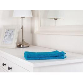 2x uterák malý froté Classic azurovo modrá 30x50