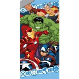 Licenčná osuška Avengers v akcii 70x140