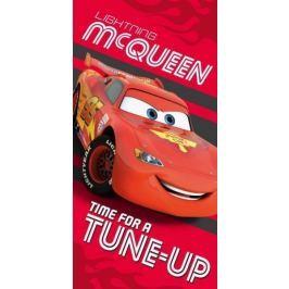 Licenčná osuška Cars Blesk McQueen červená 70x140