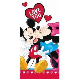 Licenčná osuška Mickey a Minnie láska 70x140