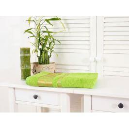 Bambusová osuška Bamboo Deluxe jarná zelená 70x140