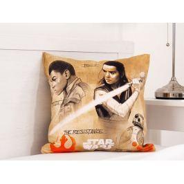 Detský vankúšik Star Wars Finn & Rey 40x40