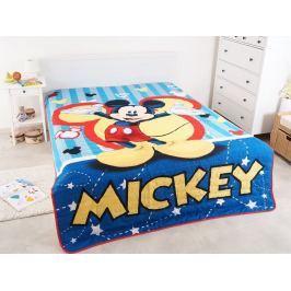Letná deka prešívaná licenčná Mickey 180x260