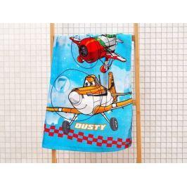Detský froté uterák Lietadlá Závod 40x60