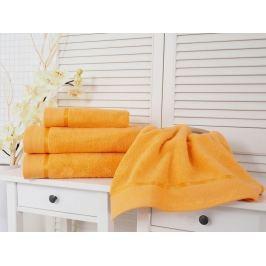 2x uterák froté Fluffy oranžová 50x100