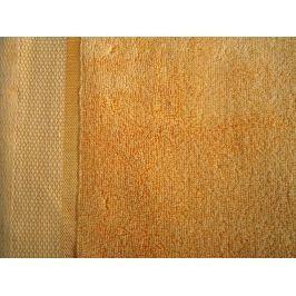 2x osuška froté Fluffy oranžová 70x140