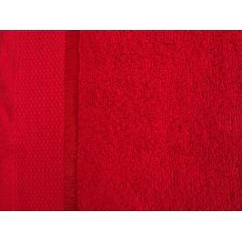 2x osuška froté Fluffy červená 70x140