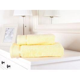 Výhodný set osuška a uterák froté Fluffy vanilková