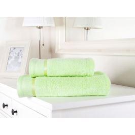 Výhodný set osuška a uterák froté Fluffy svetlé zelená