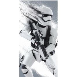 Osuška licenčné Star Wars Stormtrooper biela 70x140