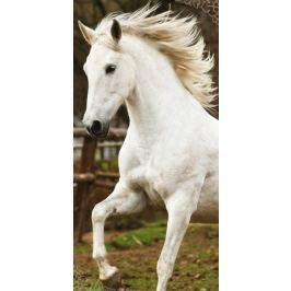 Osuška bavlnená froté Biely kôň 70x140