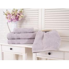 Froté bavlnený uterák Estrella sivá 50x90