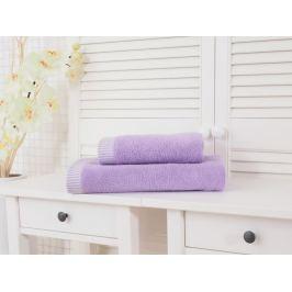 Dvojdielny set uteráka a osušky Colomba fialová
