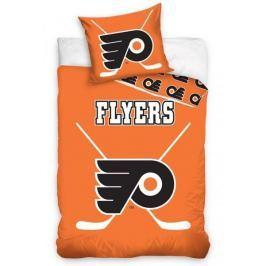 Svietiace licenčné obliečky NHL Philadelphia Flyers 140x200