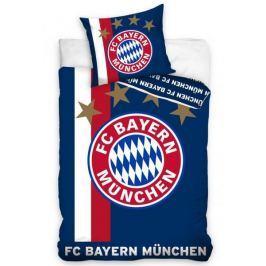 Obliečky licenčné FC Bayern Mníchov modré 140x200
