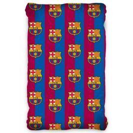 Futbalové licenčné prestieradlo FC Barcelona 90x200 cm