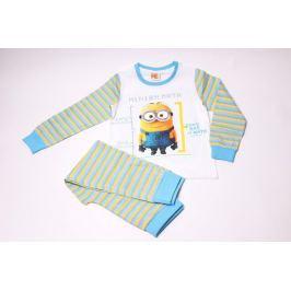 Chlapčenské bavlnené pyžamo Mimoni 122/128