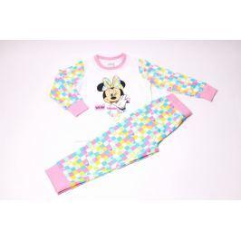 Dievčenské bavlnené pyžamo Minnie 116/122