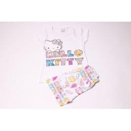 Dievčenské pyžamko so šortkami Hello Kitty 116/122