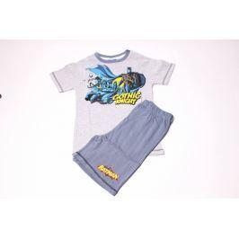 Chlapčenské bavlnené pyžamo so šortkami Batman 92/98