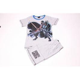 Detské bavlnené pyžamo pre chlapcov so šortkami Star Wars 110/116