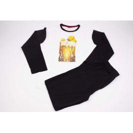 Pánske pyžamo Simpsons čierne XL