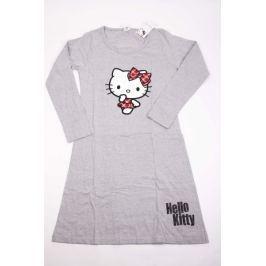 Dámska bavlnená nočná košeľa Hello Kitty sivá S