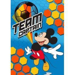 Detská licenčná deka Mickey kapitán tímu 80x110