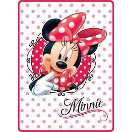 Akrylová detská deka Minnie bodka 80x110