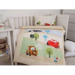 Detské bavlnené obliečky Cars 100x135