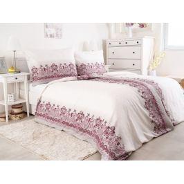 2x exkluzívne predĺžené obliečky z bavlneného saténu Hedebo ružová 140x220
