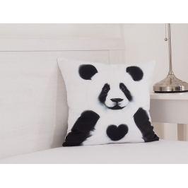 Dekoračný vankúšik Panda 40x40