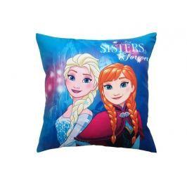 Dekoračný vankúšik Frozen Anna a Elsa 40x40