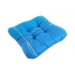 2x bavlnený podsedák na stoličku so šnúrkami Modrý 40x40