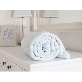 Heboučká mikroflanelová deka mentolová 150x200