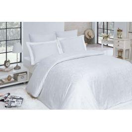 Elegantný damaškové obliečky Addobbo biela 140x200