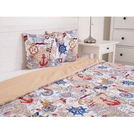 Štýlový prehoz na posteľ prešívaný Marine béžová 230x190