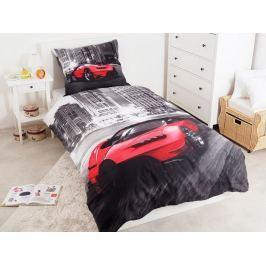 Bavlnené licenčné obliečky Super car 140x200