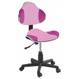 Signal Detská stolička Q-G2 látka ružová