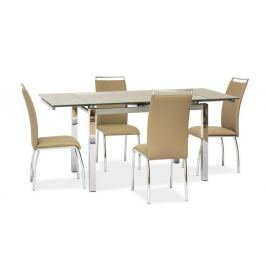 Signal Jedálenský stôl GD-017 béžový