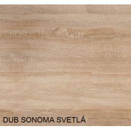 Botník 3K / WIP Farba: dub sonoma