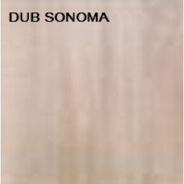 ArtMadex Detská šatníková skriňa PENELOPA 205 / MEDVEDÍK Farba: dub sonoma