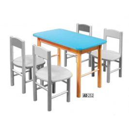 Drewmax Detský stolík AD252 Farba: Biela